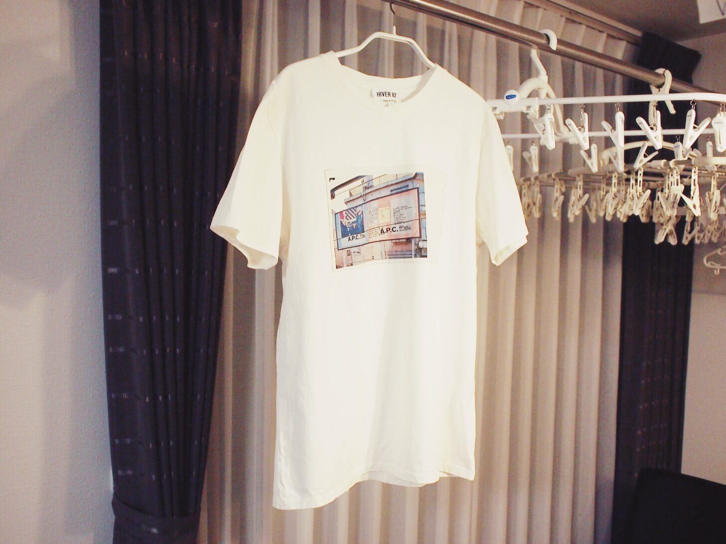 A.P.CのTシャツ(HIVER87 Tokyo)