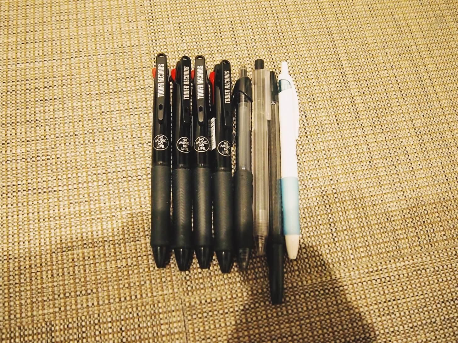 ボールペン類