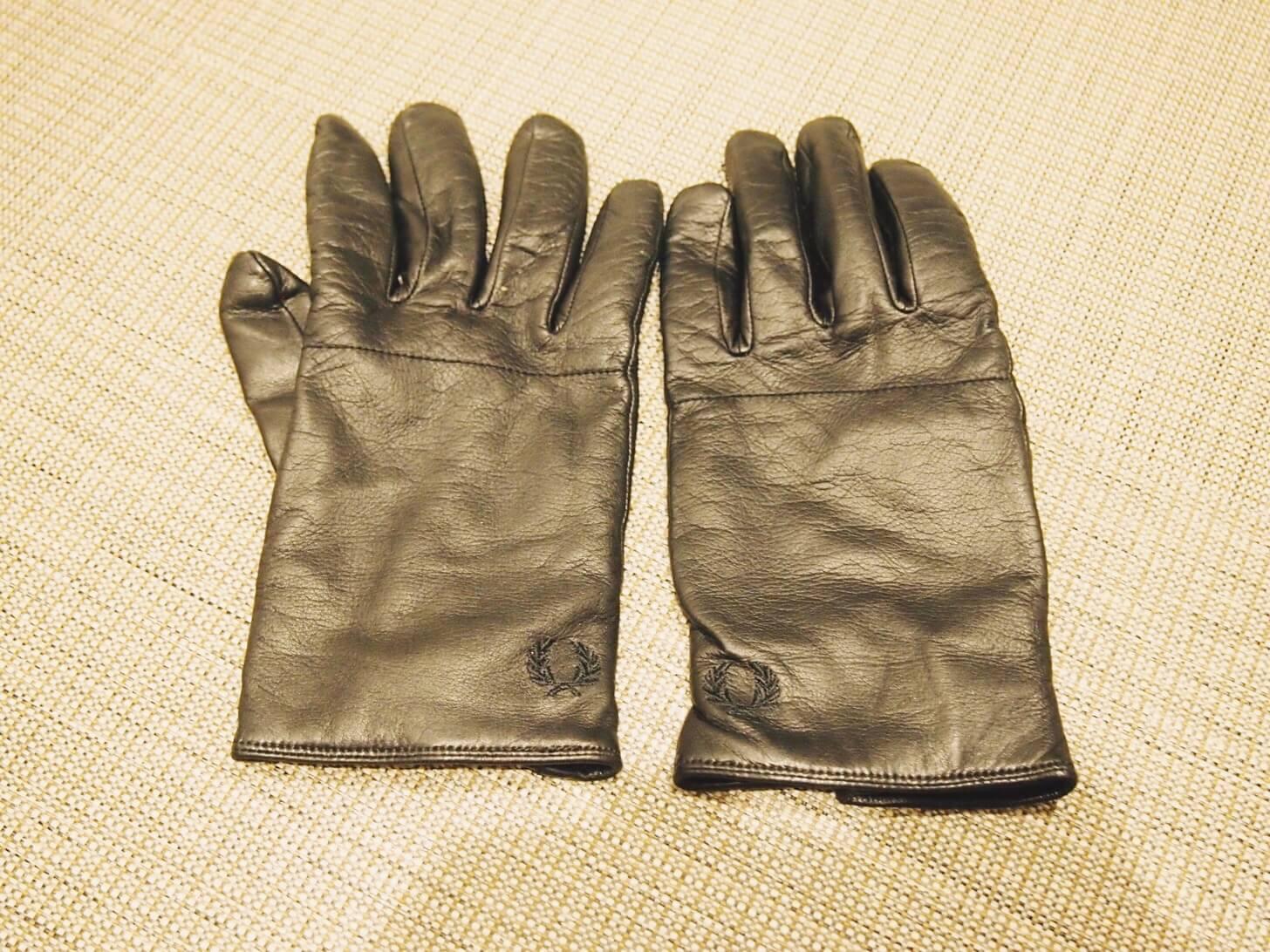 フレッドペリーの手袋
