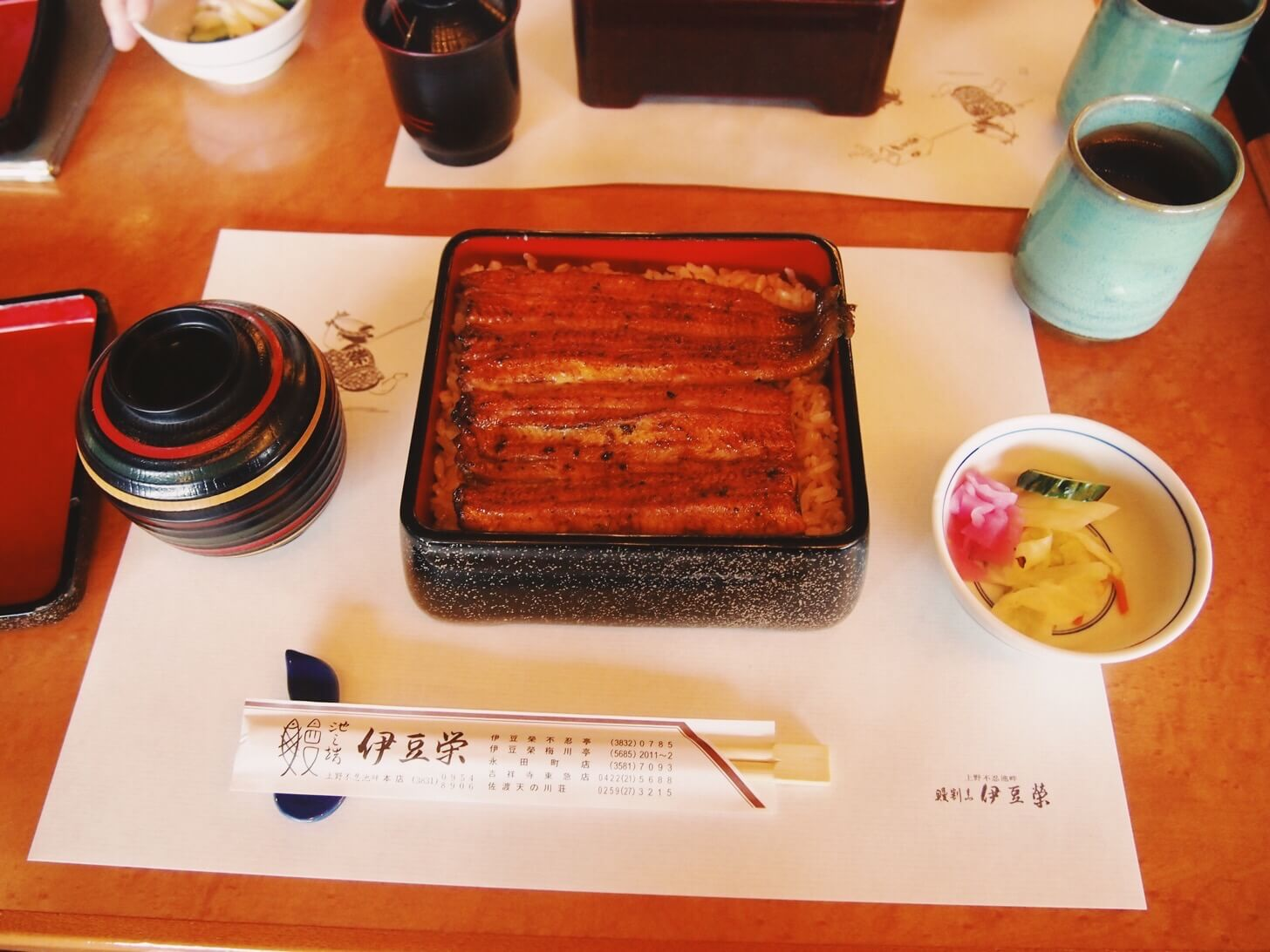 伊豆栄のうな重(上野本店)-松