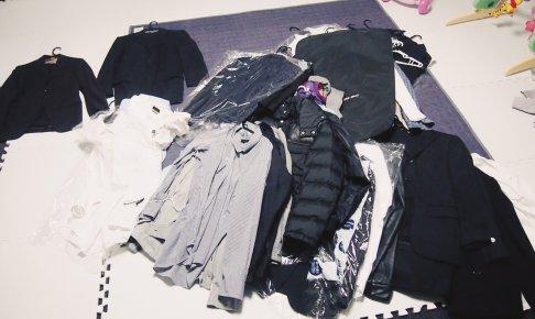 スーツの断捨離