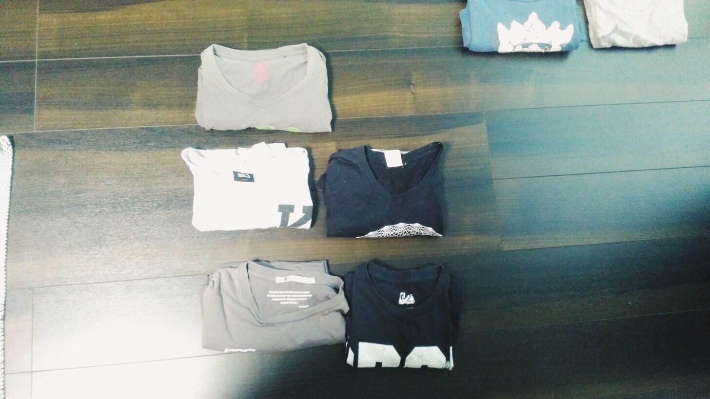 Tシャツの断捨離-10