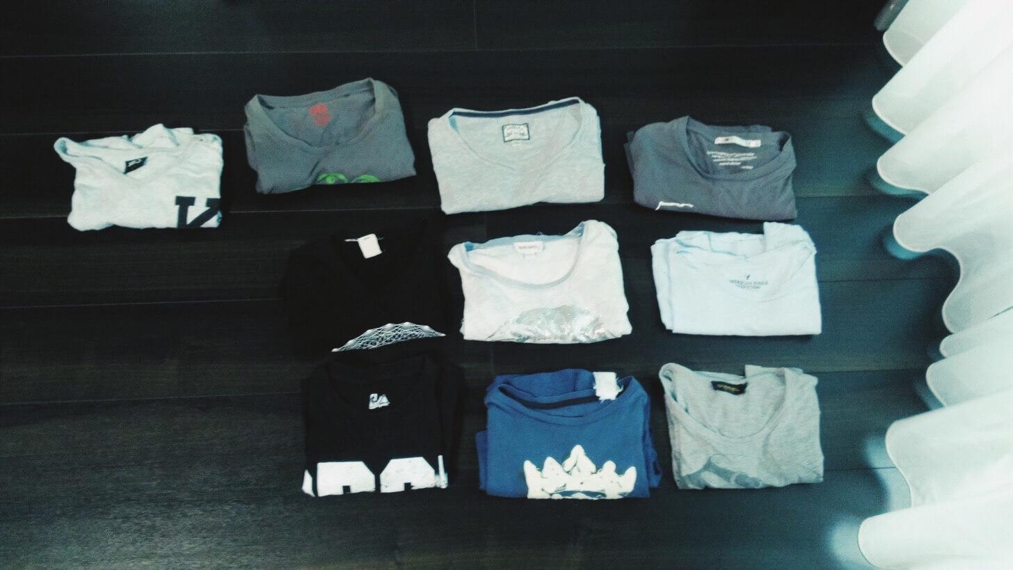 Tシャツの断捨離-13