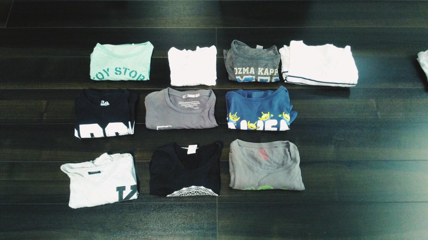 Tシャツの断捨離-4
