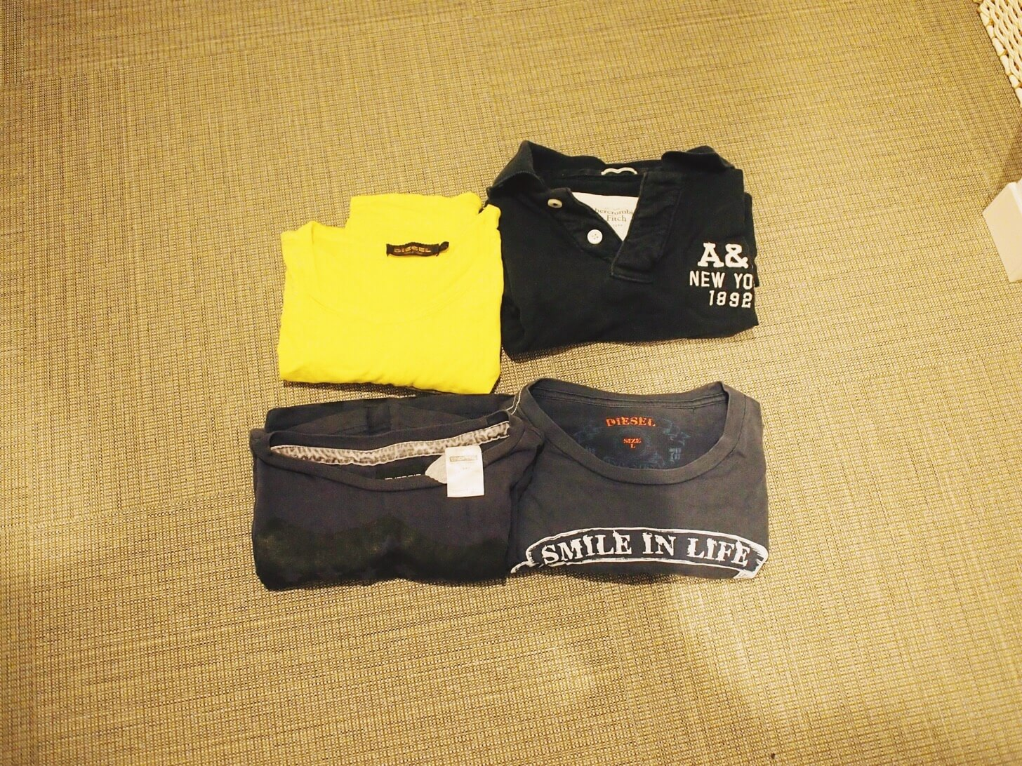 Tシャツ・ポロシャツの断捨離-4