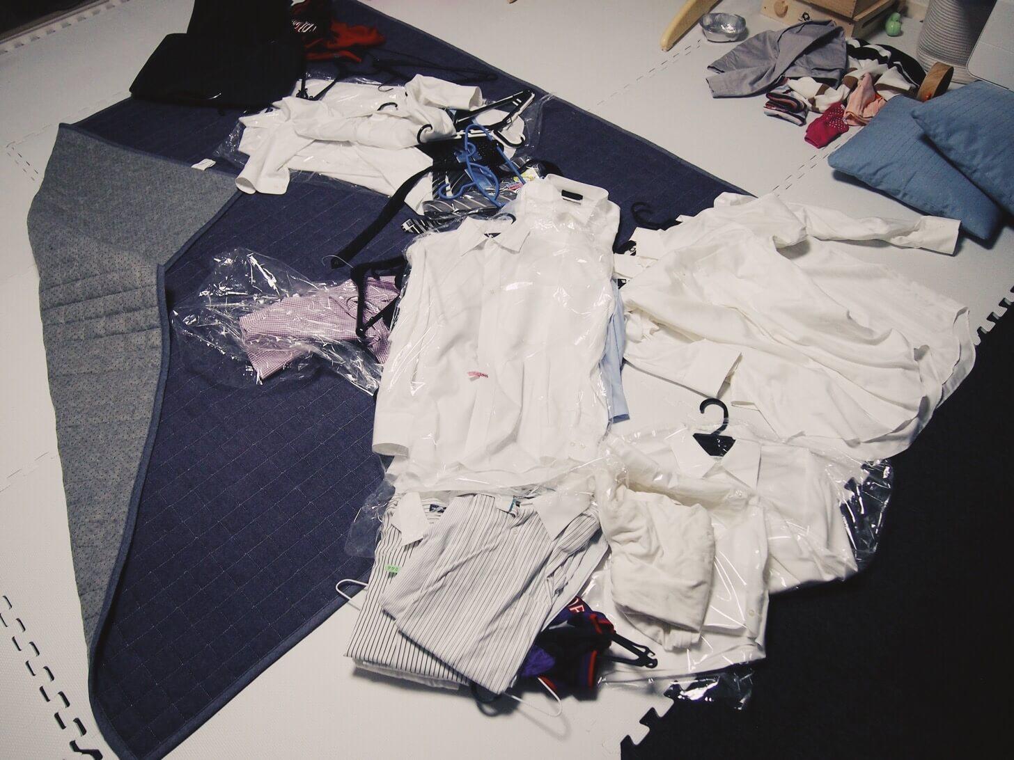 ワイシャツの断捨離-1