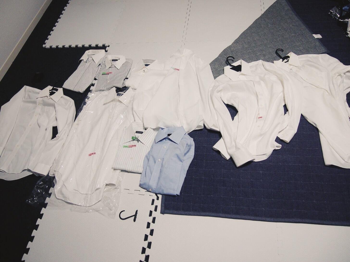 ワイシャツの断捨離-2
